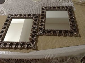 """Decorative Wall mirror(11""""x13"""") (both) for Sale in Austin, TX"""