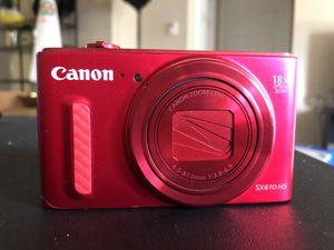 Canon Powershot SX610HS 20 Megapixel Camera for Sale in Dallas, TX