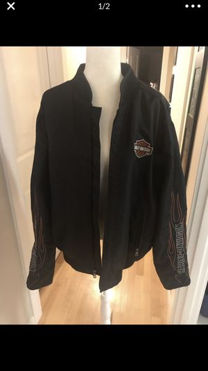 Like new Xl Harley Davidson bomber jacket Check out my other listings!!! for Sale in Snohomish, WA