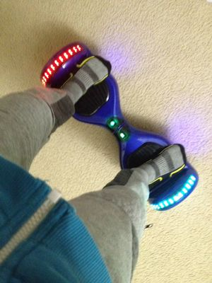 Blue hoverboard for Sale in Hampton Township, PA