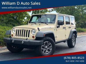 2012 Jeep Wrangler Unlimited for Sale in Peachtree Corners, GA