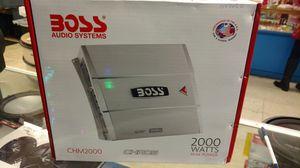 BOSS 2000 MONOBLOCK AMPLIFIER for Sale in Houston, TX
