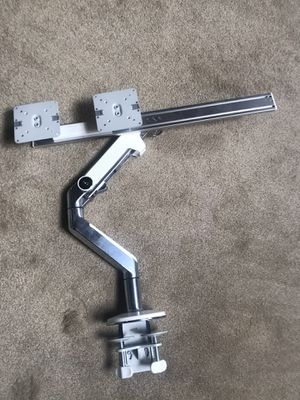 Human scale dual monitor arms for Sale in San Leandro, CA