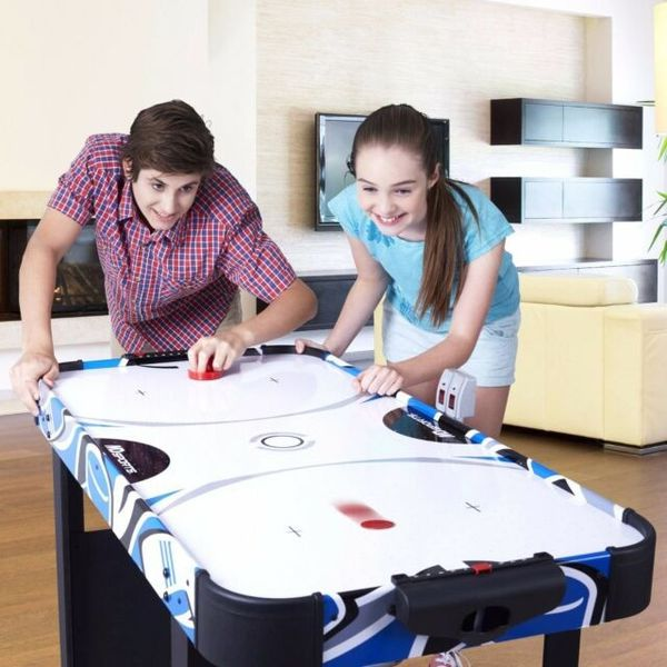"""MD Sports 48"""" Air Powered Hockey Table:"""