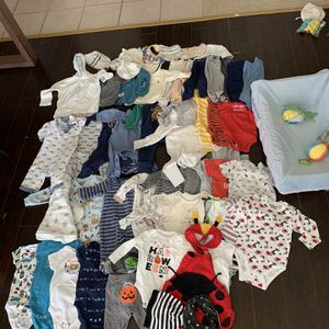 Baby Boy First Year Clothes Bundle for Sale in Katy, TX