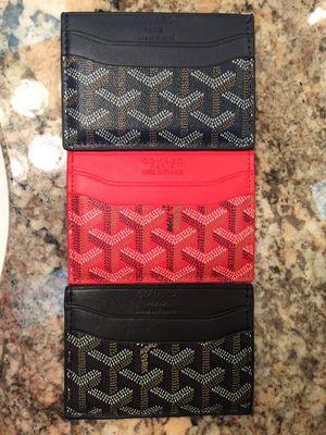 Goyard go yard wallet card holder for Sale in Phoenix, AZ