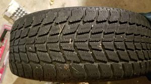 4 Toyo all season 225/55r16 tires and multi lug 5 bolt chrome rims for Sale in Grants Pass, OR