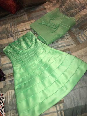 Like Green Strap/Strapless Dress $15 for Sale in Ashburn, VA