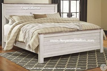 NEW IN THE BOX.STYLISH KING PANAL BED, SKU# TCB267-56-58-99 for Sale in Westminster,  CA