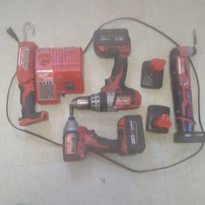 Milwaukee cordless set for Sale in Janesville, WI