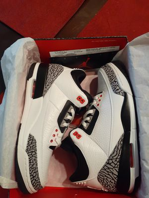 Jordan 3 Retro Infrared 23 - Size 10 for Sale in Pleasanton, CA