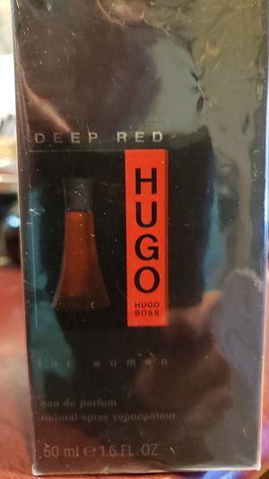 Hugo boss deep red 1.6 oz EDP spray perfume for Sale in Jersey City, NJ