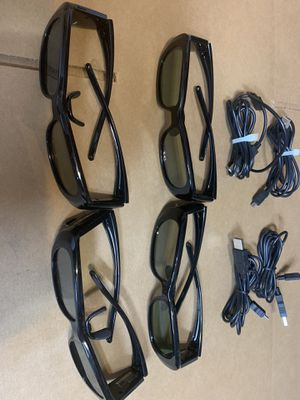 4= LG AG-S250 3D Glasses For LG 3D TV/Projector (used) for Sale in Miami, FL
