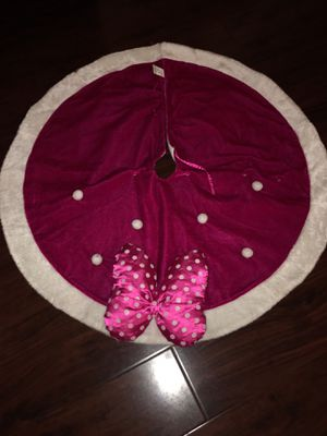 Minnie Mouse tree skirt for Sale in Whittier, CA