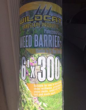 Weed barrier for walkways or turf projects! for Sale in Poway, CA