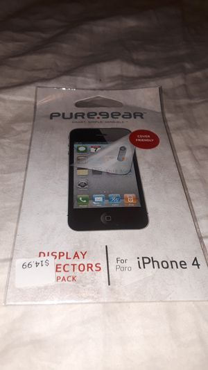 iPHONE 4 Screen Protector - PURE.GEAR [3-Pack] for Sale in Stockton, CA