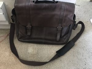 Leather Messenger Bag for Sale in Federal Way, WA