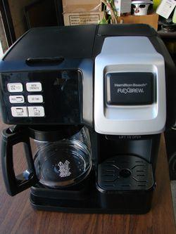 Hamilton Beach 49976 FlexBrew 2-Way Brewer Programmable Coffee Maker for Sale in South El Monte,  CA