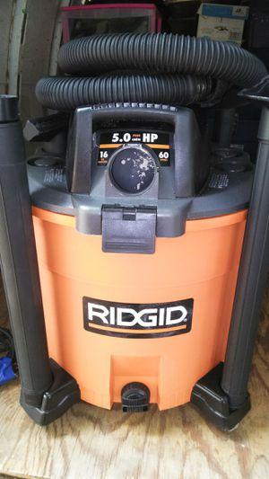 RIDGID SHOP VACUUM for Sale in Fresno, CA