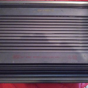 Optimus High Powered Car Stereo Amplifier for Sale in Pompton Lakes, NJ