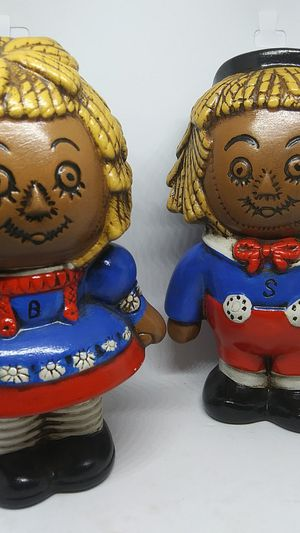 VINTAGE BLACK RAGGEDY ANN AND ANDY for Sale in Simpsonville, SC