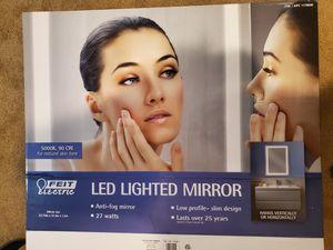 Bathroom Mirror with LED Light for Sale in Buckeye, AZ