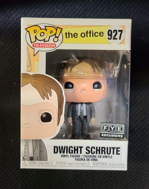 "FUNKO: DWIGHT SHRUTE (W/CPR MASK) ""THE OFFICE"" (FYE EXCLUSIVE) *PRISTINE/FACTORY DIRECT* (ULTRA RARE/VHTF) 🔥 (SOLD OUT @ FYE/ONLINE SITE) for Sale in Philadelphia, PA"