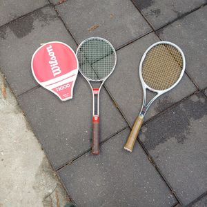 Vintage Wilson Tennis Rackets for Sale in Davis, CA