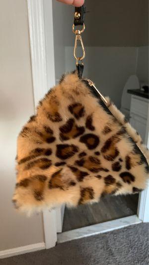 Cheetah print fur purse for Sale in Parma, OH