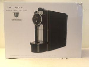Williams Sonoma Signature Capsule Coffee Maker for Sale in Philadelphia, PA
