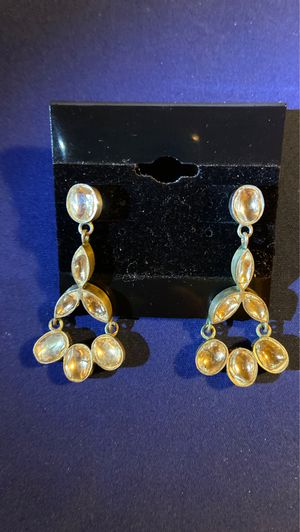 CUSTOM MADE UNCUT (POLKI) (3C) DIAMONDS EARRING for Sale in Oakland, CA