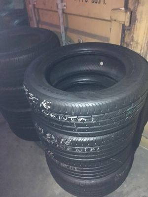 SET semi new Continental 205/55/16 for Sale in Long Beach, CA