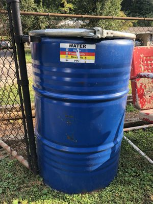 55 Gallon Metal Palatable Water Barrel for Sale in Knoxville, TN