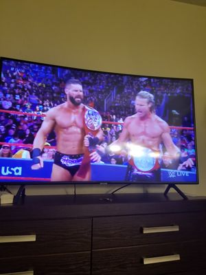 2019 Samsung curve 55 inches UHD TV 7 series for Sale in Lowell, MA