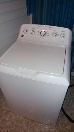 General Electric washing machine, Deep Fill He turbo. for Sale in Carlstadt, NJ
