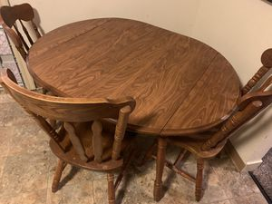 Kitchen table and 3 chairs for Sale in Turlock, CA