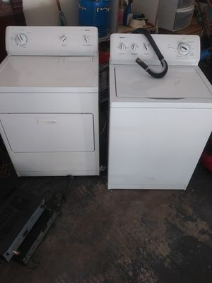 Kenmore washer/dryer combo fairly new runs great.asking for $300 for the set for Sale in Decatur, GA