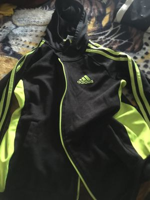 Black and yellow adidas hoodie for Sale in Los Angeles, CA