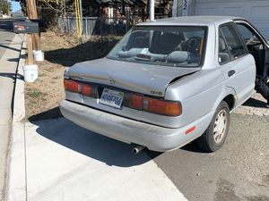 91' Nissan Sentra gxe for Sale in Mount Shasta, CA