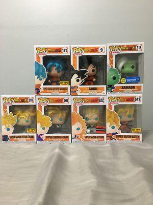 Dragonball z funko pops for Sale in Alexandria, VA