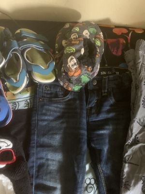 Clothes 4t and 5t shoes kids for Sale in Stanton, CA