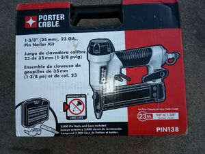 PIN NAILER 23GA PORTER CABLE for Sale in Phoenix, AZ