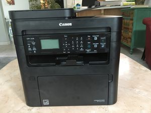 Canon B&W Laser Printer/Scanner w/ nearly full cartridge for Sale in Sherwood, OR