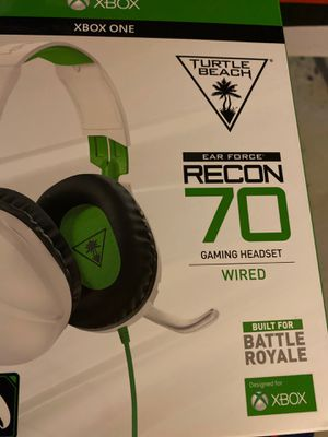 Xbox on headset never opened or used for Sale in Trenton, MI