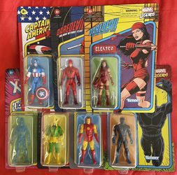 """Marvel Legends Retro 3.75"""" Unpunched Case Fresh Lot for Sale in Los Angeles,  CA"""