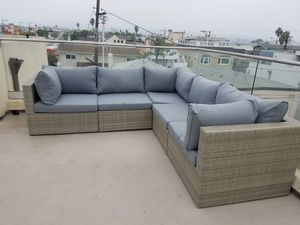 New outdoor wicker lounge sectional furniture set for Sale in Chula Vista, CA
