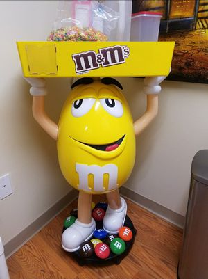 Yellow M&M Display! He gets plenty of compliments ☺ for Sale in Johnson City, TN