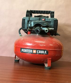 Porter cable air compressor for Sale in East Los Angeles, CA