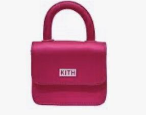 Kith micro mini pink bag for Sale in New York, NY