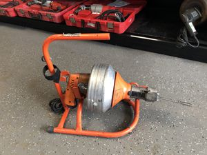 General Super-Vee Drain Cleaner with stand 12459-1 for Sale in Cambridge, MA